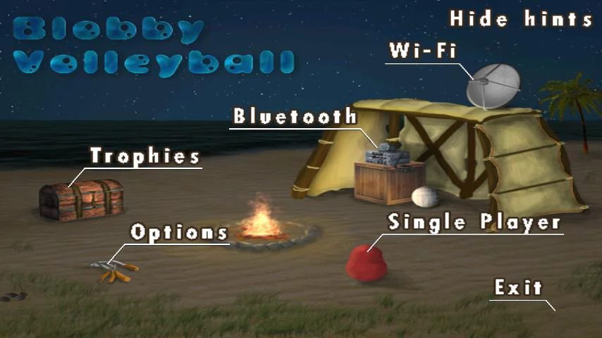 Blobby Volleyball- screenshot