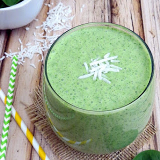 Green Coconut Smoothie‏ #Recipe