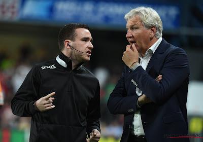 Marc Brys estime que l'arbitre a commis une erreur sur le premier but d'Anderlecht