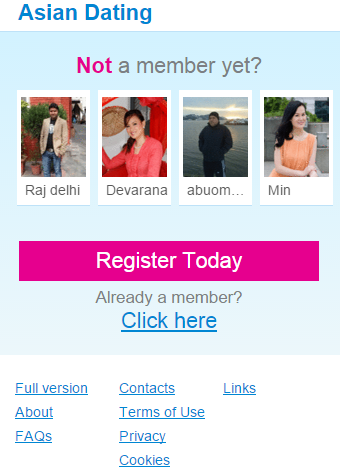 asian dating free app