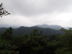 尖った山が仏ヶ平