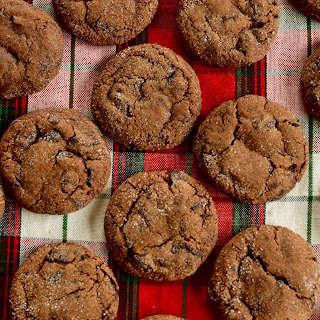Chocolate Ginger Cookies.