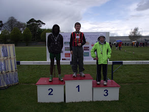 Photo: Jack Ryan, Moycarkey Coolcroo A.C. winner of Boys U/12 Long Jump at St. Lawerence O'Toole Sports 2012.