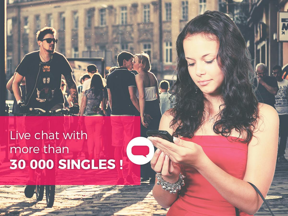 Tchatche : Chat & Dating with single people- screenshot