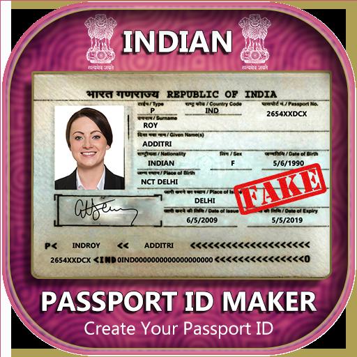 App Insights: Fake Indian Passport ID Maker | Apptopia