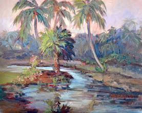 Photo: Painting by Mary Mirabito