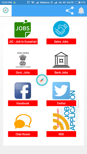 JIG - The Official Job In Guwahati App screenshot 1