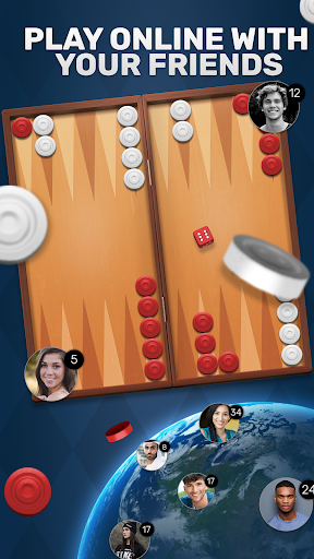 Free Backgammon Go: Best online dice & board games 2.9.1 gameplay | by HackJr.Pw 1