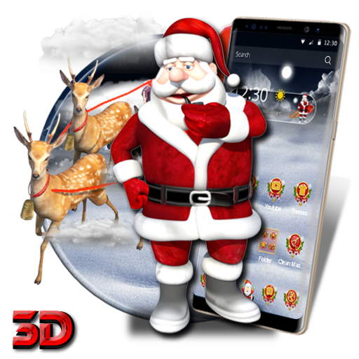 3D Christmas santa Theme file APK for Gaming PC/PS3/PS4 Smart TV