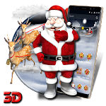 3D Christmas santa Theme Apk Download Free for PC, smart TV