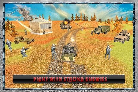 Army War Truck Driving 2016 screenshot