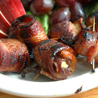 Pancetta Wrapped Dates.