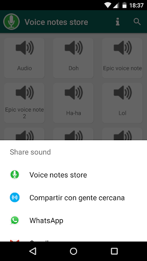 Voice Notes Store for Whatsapp 1.73 screenshots 5