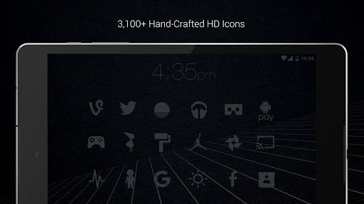 Murdered Out - Black Icon Pack (Pro Version)  screenshots 16