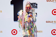 Sho Madjozi attends the Pantene Style Stage at the 2019 BET Awards at the 2019 BET Awards at Microsoft Theater on June 23, 2019 in Los Angeles, California.