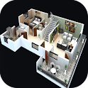 3D Floor Plan icon