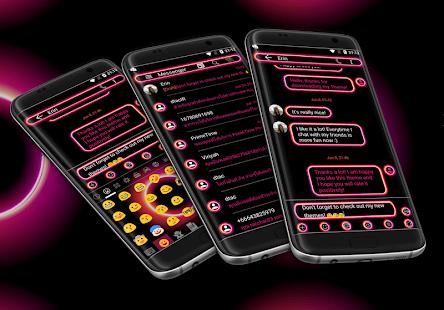 Retro Pink SMS Zprávy - náhled
