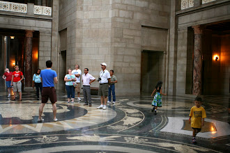 Photo: We took a tour of the capital. Nebraska has a unicameral legislature, the only state with a single house.