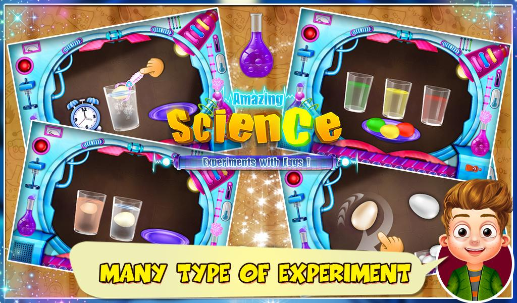 Science Experiments With Eggs- screenshot