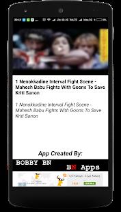 Mahesh Babu Best Action Scenes - náhled