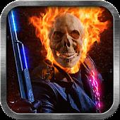 Skull Rider Live Wallpaper
