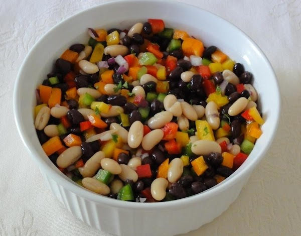 Bell Pepper And Bean Salad Recipe