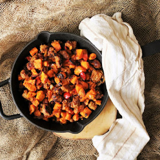 Sausage Sweet Potato Hash