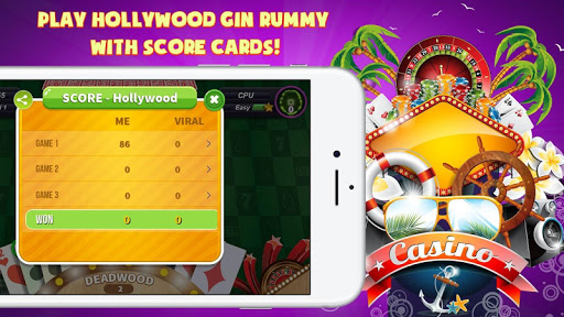 Gin Rummy Extra - GinRummy Plus Classic Card Games 1.1 screenshots 5