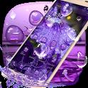 Purple Water Drops Theme icon