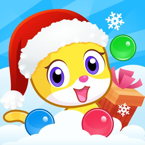 Meow Pop: Christmas Bubble Story