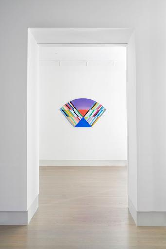 Installation view of Anton Ginzburg: VIEWs, VIEW_5A_02 (2018)