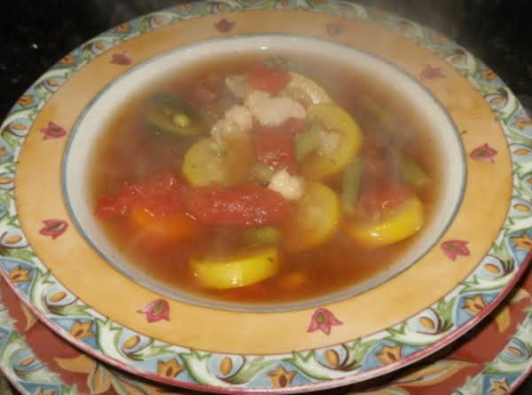 I Can't Make Vegetable Soup....soup! Recipe