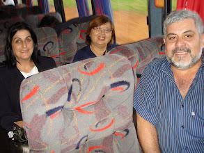 Photo: No dia 04/07/2009, Eu, Márcia e Mei indo para Osvaldo Cruz
