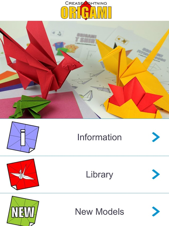 Origami Print- screenshot