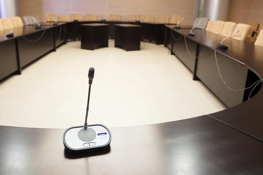 Konferenztechnik Bosch DCN Tischsprechstelle