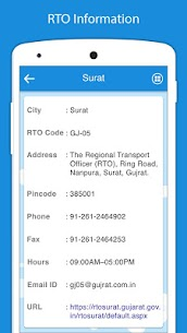 RTO Vehicle Information apk download 4