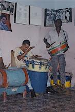 Photo: Tambours de tumba francesa de Santiago - Danse mason - 1998? © Daniel Chatelain