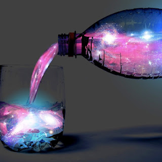 Glow-in-the Dark Aurora Borealis Cocktail.