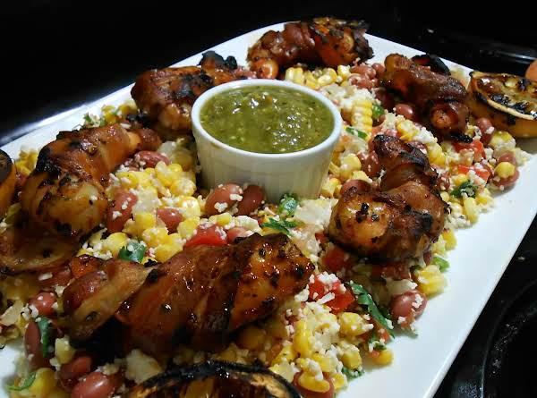 Tex Mex Grilled Shrimp And Corn Salad Recipe