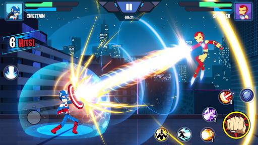 Stickman Hero - Super Stick Heroes Fighting Game apkdemon screenshots 1
