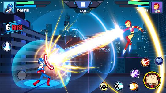 Stickman Superhero MOD (Unlimited Coins) 1