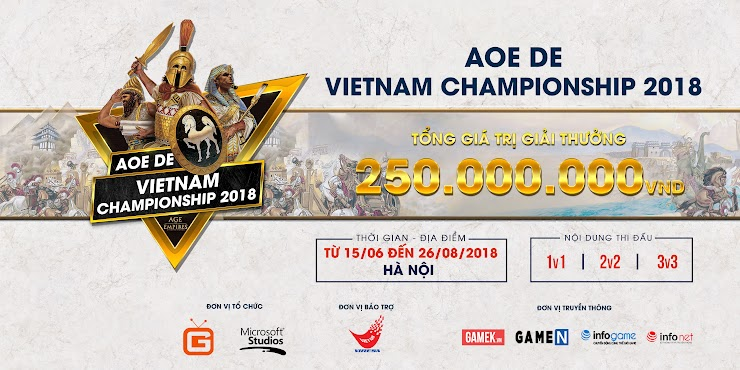 Age Of Empires: Definitive Edition | Vietnam Championship 2018