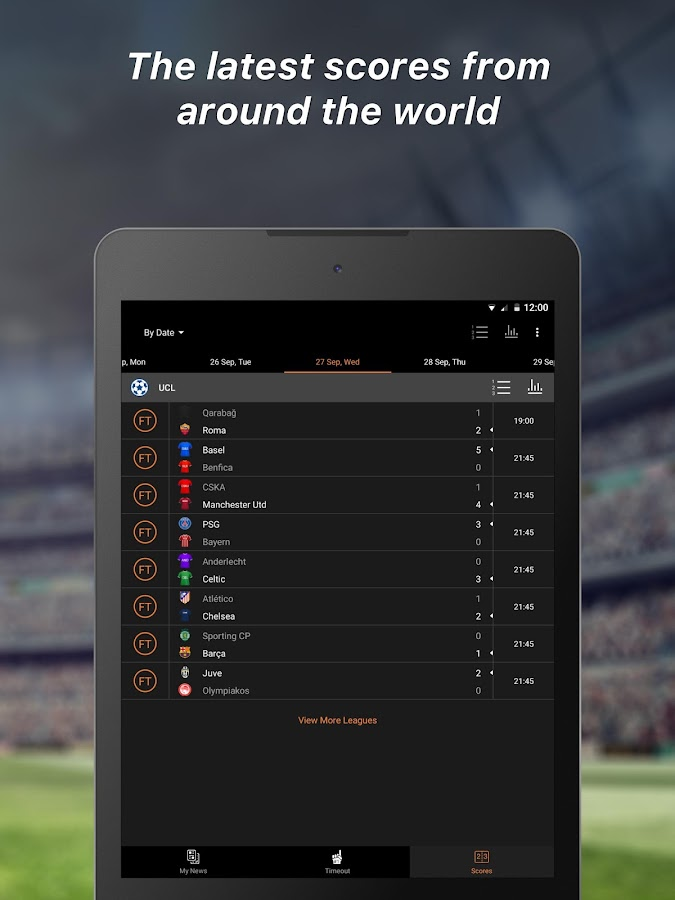 90min - Live Soccer News App- screenshot