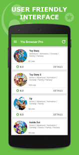 YTS BROWSER - YIFY RSS AD FREE Screenshot