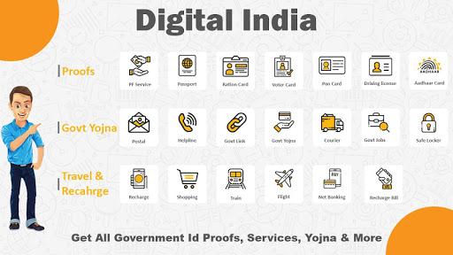 Online Seva : Digital Services India 2020 screenshot 1