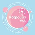 出会系チャットのポプリ 友達作りトークもできる婚活・恋活アプリ icon