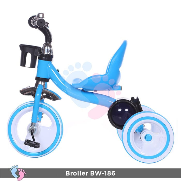 Xe đạp 3 bánh Broller XD3-186 có đèn bánh xe 4