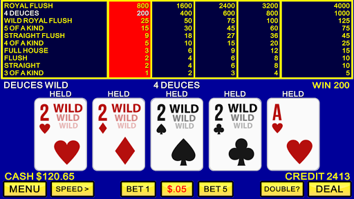 Video Poker u2660ufe0fu2665ufe0f Classic Las Vegas Casino Games 1.6.3 screenshots 12