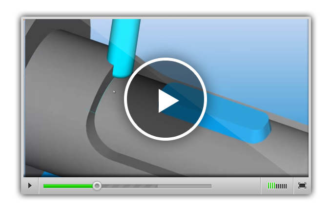 Использование стратегий продвинутой пятиосевой обработки в Alphacam пример 1