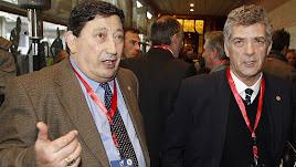 Sánchez Arminio con Villar.